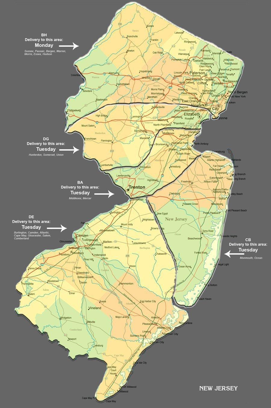 GST_NJ_truckroute New Jersey